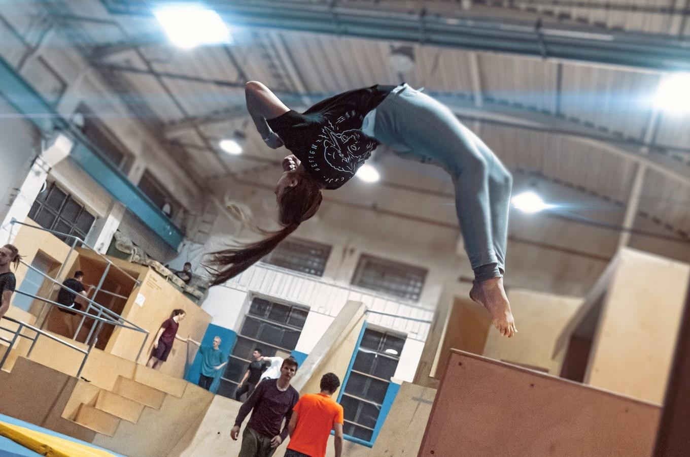 Parkour - workshop