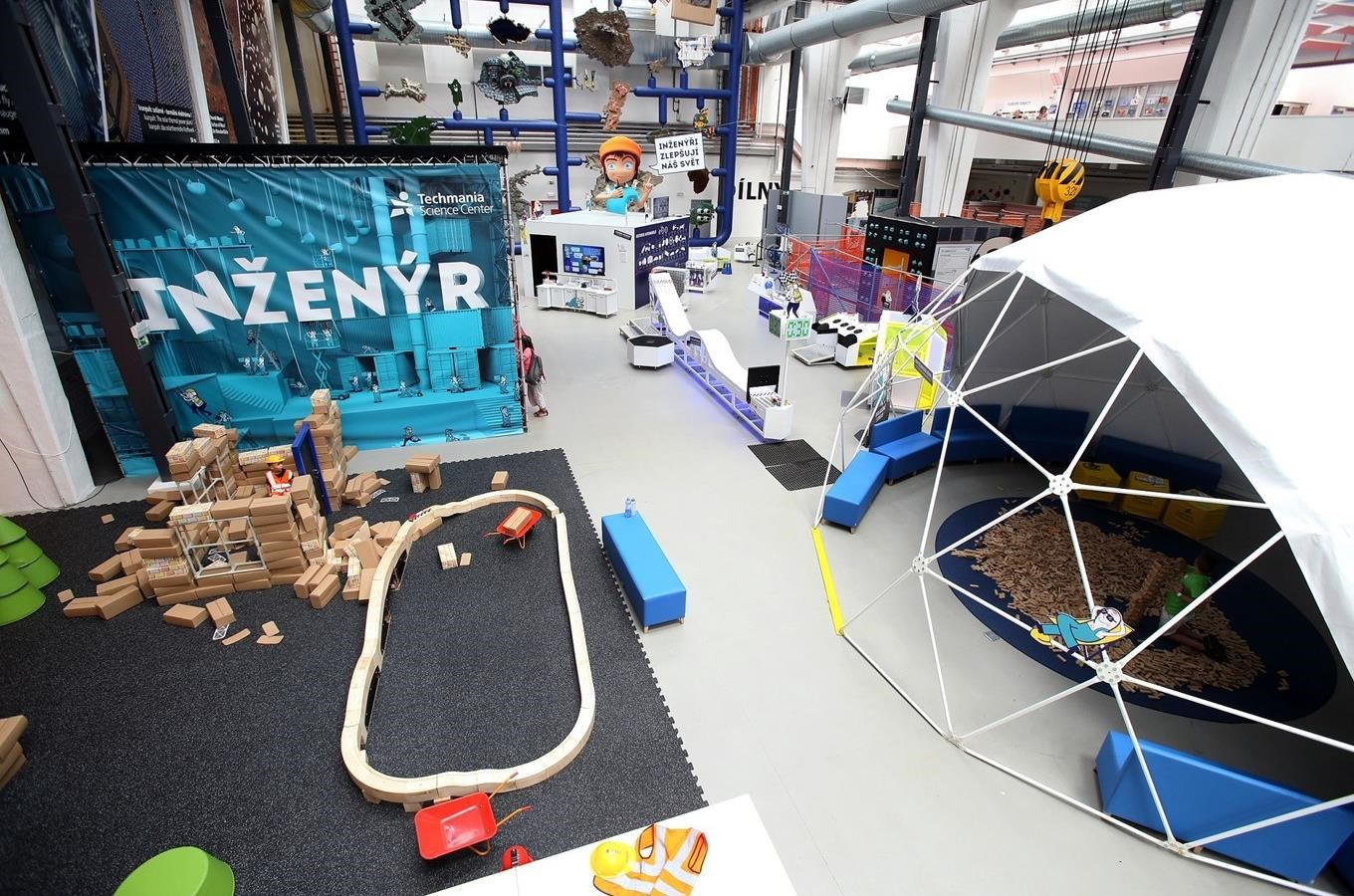 Expozice Inženýr - Techmania Science Center