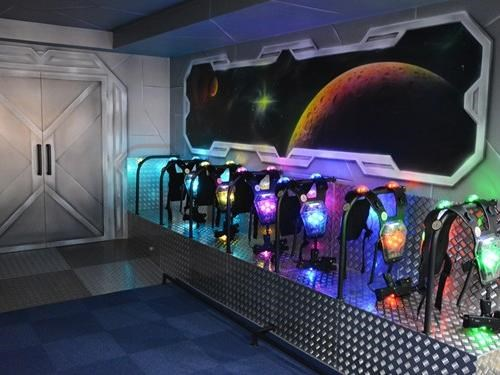 Laser Aréna a Game cafe bar v Písku