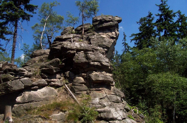 Kudy z nudy - Vrchol Devět skal - nejvyšší vrchol Žďárských vrchů
