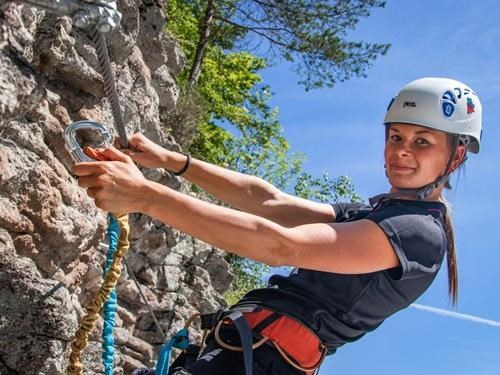 Via Ferrata Hluboká