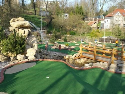 Adventure Golf v Jihlavě