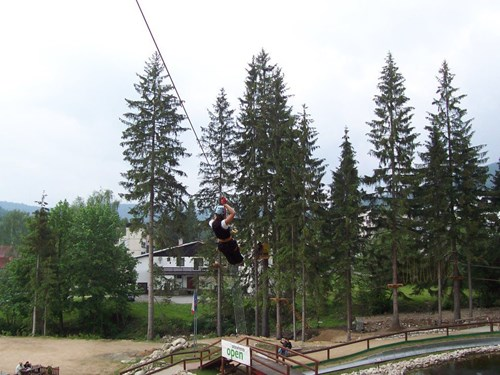 Adrenalin - MonkeyPark Harrachov
