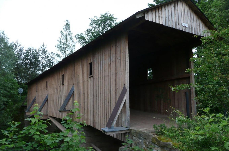 Dřevěné kryté mosty ve Verdeku