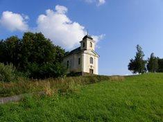 Kostelík sv. Jana Nepomuckého na Poušti v Železném Brodě