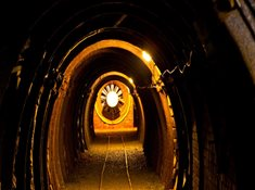 Do hornického muzea v Harrachově můžete přijít i v zimě