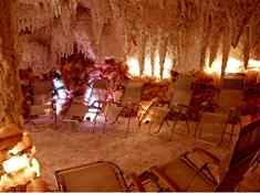 Solná jeskyně Salina v Mariánských Lázních