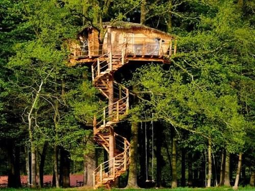 Stromový dům Chotýšany - Tree house v Resortu Green Valley