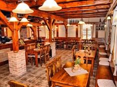 Stylová lesní restaurace Na Hájence nedaleko Chrudimi