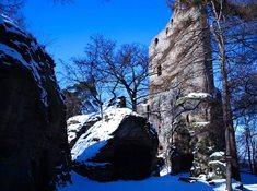 Poznejte skalní hrad Valečov i v zimě