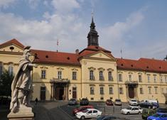 Barokní Nová radnice v Brně