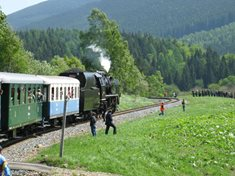 Ramzová - nejvýše položená rychlíková stanice v České republice