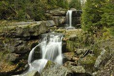 Vodopády na Jedlovém potoce v Jizerských horách