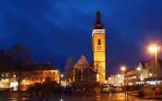 Gotický kostel sv. Petra a Pavla v Soběslavi