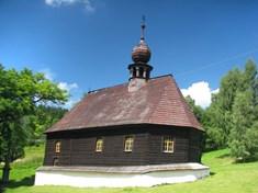 Kostelík sv. Jana Nepomuckého v Klepáčově