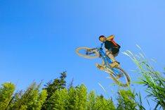 Bike park Kyčerka ve Velkých Karlovicích