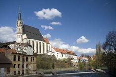 Kostel sv. Víta v Českém Krumlově