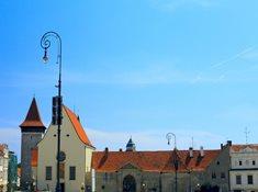 Vlkova věž a vinařské informační centrum Znojmo