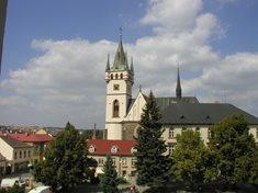 Vyhlídková věž kostela sv. Mikuláše v Humpolci
