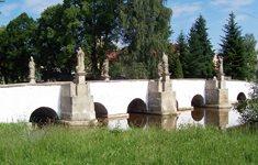 Barokní most v Bělé nad Radbuzou