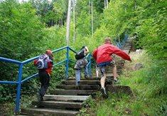 Lvíčkův výškový kvíz ve Frenštátě - Po schodech vzhůru za zábavou i poznáním
