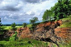 Uhlířský vrch u Bruntálu - jedna z nejmladších sopek v České republice