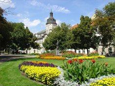Sadový okruh v centru Plzně