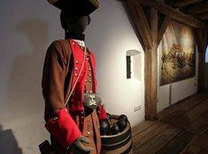 Korunní pevnůstka v Olomouci - expozice v barokní prachárně