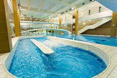 Vodní ráj hotelu VZ ve Špindlerově Mlýně