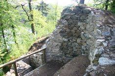 Zřícenina hradu Velešín
