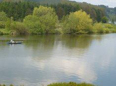Chatový kemp Vltavín - rybaření na soutoku Vltavy a Lužnice