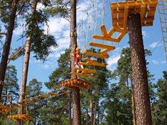 Lanový park Hamr na Jezeře