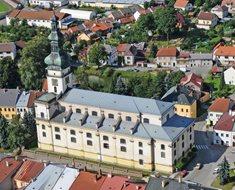 Církevní muzeum v chrámu Nanebevzetí Panny Marie v Polné