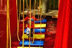 Lanáček v ZOO Brno - dětské lanové centrum
