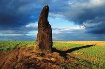 Kamenný pastýř - největší český menhir
