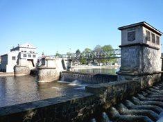 Jiráskův jez a vodní elektrárna v Českých Budějovicích