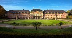 Francouzská zahrada a anglický park v Dobříši
