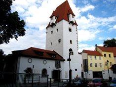 Rabenštejnská věž - součást městského opevnění Českých Budějovic