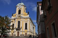Barokní kostel sv. Petra a Pavla v Úštěku
