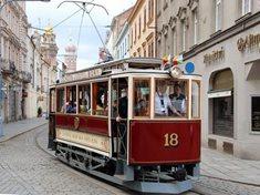 Pronájem historické tramvaje v Plzni