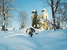 Farní kostel sv. Marie Magdaleny v Deštném v Orl. h.