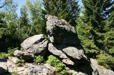 Královský kámen na Šumavě