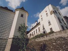 Zámecká věž ve Slatiňanech