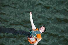 Bungee jumping ze Zvíkovského mostu