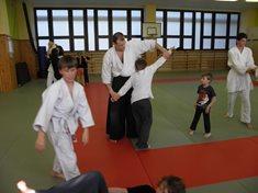 Aikido - japonského bojového umění v Plzni