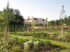 Zahradnictví na zámku v Miloticích