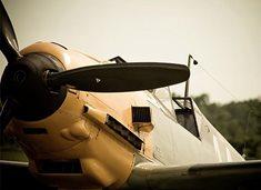 Letecký simulátor Messerschmitt Bf 109 v Praze
