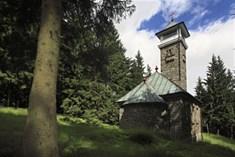 Kozubová v Beskydech - kaple s vyhlídkovou věží