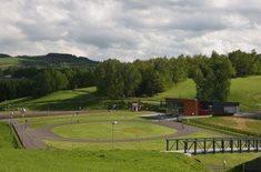 Bežecký areál Vesec - za sportem v zimě i v létě