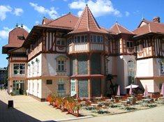 Lázeňský hotel Jurkovičův dům v Luhačovicích